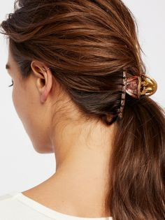 Sorbet Fine Hair Claw at Free People Clothing Boutique
