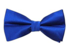 Solid Satin - Royal Blue (Bow Ties)