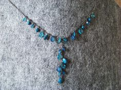 Tears necklace.