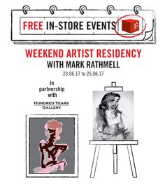 [Events at #GreatArt] We're looking forward to having Mark Rathmell join us next weekend for the 3 days Mark Rathmell Artist Residency in partnership with Hundred Years Gallery During his time with GreatArt he will be working from clothed models and exploring figurative representation on canvas.  #mygreatart #greatartlondon #liveart #drawing #painting