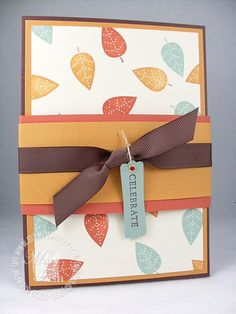 little too whimsy but would look elegant with the Fall Harvest Stamp