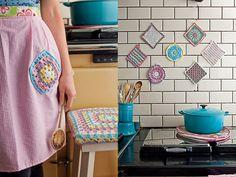 Crochet kitchen from simply crochet magazine