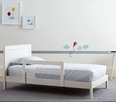 """Emery Toddler Bed 30.75"""" wide x 53.5"""" long x 25.5"""" high"""
