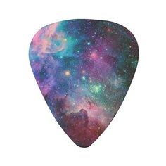 galaxy guitar picks pick ($17) ❤ liked on Polyvore featuring accessories