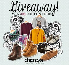 Enter to win $30 Gift Card to ChicNova.com on MyStylespot.com Ends May 14.