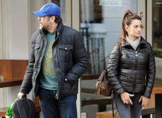 Javier Bardem and Penélope Cruz wearing Moncler in London #moncler #javierbardem #penelopecruz #monclerfriends