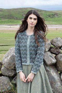 Loch Lomond patterncard knitwear design by Jade Starmore in pure wool Hebridean 2 Ply hand knitting yarn Hand Knitting Yarn, Knitting Ideas, City Folk, The Loch, Loch Lomond, Yarn Shop, Card Patterns, Heart Shapes, Knitwear