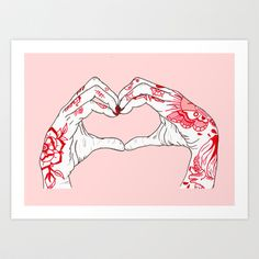 I heart you...
