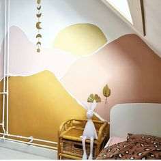 Baby Room Decor, Nursery Room, Bedroom Wall, Girls Bedroom, Living Room Decor, Bedroom Decor, Girl Room, My Room, Kids Room Murals