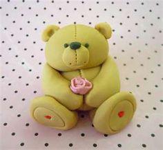 Teddy maci – marcipán, fondant figurák