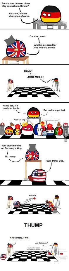Britain vs Germany