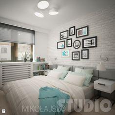 Stylowa sypialnia - zdjęcie od MIKOŁAJSKAstudio - Sypialnia - Styl Skandynawski - MIKOŁAJSKAstudio