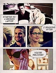 Well done Deadshot! #Olicity #Arrow || And now I have Deadshot feels because he's most likely dead. Ugh...