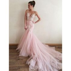 Simple Prom Dresses, sexy prom dress appliques prom dress v neck prom dress mermaid prom dress long prom dress formal evening dress pink prom dresses tulle prom gown LBridal Backless Mermaid Wedding Dresses, V Neck Prom Dresses, Pink Prom Dresses, Tulle Prom Dress, Lace Evening Dresses, Cheap Prom Dresses, Mermaid Dresses, Bridal Dresses, Lace Dress