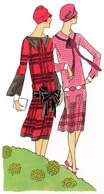 Art Deco Fashion - Spring 1926 - Designer: Jean Patou
