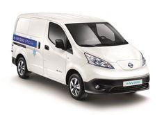 Nissan e-NV200 http://www.nissanfanblog.de/nissan-e-nv200-fridge-emissionsfrei #nissan #nissanenv200 #env200