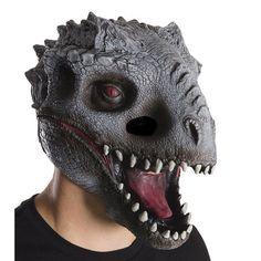 Adult Jurassic World Indominus Rex 3/4 Costume Mask, Grey