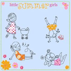 little SUMMER girls