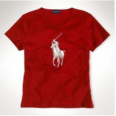61e2d8a3d Ralph Lauren Pony Women Short Sleeved Polo Red http   www.ralph-
