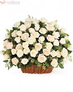 Order Bountiful Rose Basket flower arrangements from All Flowered Up Too, your local Lubbock, TX florist. Send Bountiful Rose Basket floral arrangement throughout Lubbock and surrounding areas. Online Flower Delivery, Fresh Flower Delivery, Same Day Flower Delivery, International Flower Delivery, Flower Delivery Service, White Rose Flower, White Roses, Pink Roses, Floral Arrangements