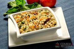 Receita de Arroz primavera em receitas de arroz, veja essa e outras receitas aqui!