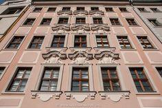 Dresden, rekonstruierte Barockfassade am Jüdenhof