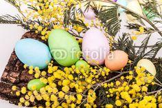 Uova Di Pasqua E Mimosa/ Easter Eggs And Mimosas