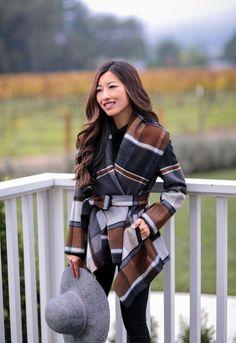 plaid belted wrap winter jacket extra petite blog