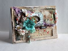 Mixed Media Card by mycreativecorner@y - Cards and Paper Crafts at Splitcoaststampers
