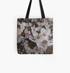 Large Bags, Small Bags, Cotton Tote Bags, Reusable Tote Bags, White Springs, Spring Blossom, Medium Bags, Are You The One, Prints