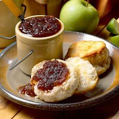 Apple butter.  I make this every year - it's the best recipe for apple butter ever.