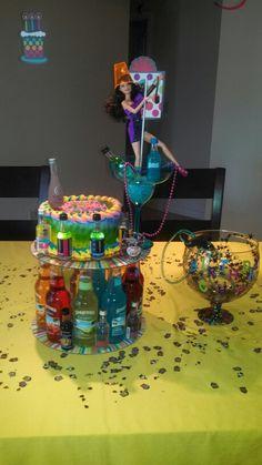 21St  barbie birthday cake