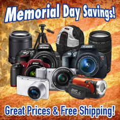 Check it out! One-time deals on Nikon D5300, Canon T5i, Sony A5000, Samsung NX Mini, and more!  http://www.cameta.com/exclusive-deals.cfm