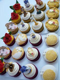 Beauty & the Beast cupcakes