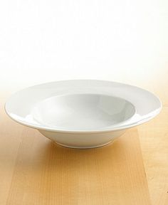 The Cellar Whiteware Individual Rim Soup/Pasta Bowl - Casual Dinnerware - Dining & Entertaining - Macy's