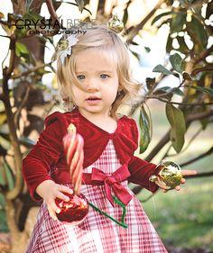 child Christmas photography