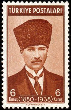 Türk Pulları-Atatürk (1939