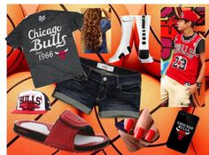 """Chicago Bulls Game With The BF Austin Mahone 3"" by jas-spectacular on Polyvore"