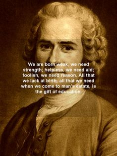 educational theory of jean jacques rousseau education essay Rousseau was one of the first to advocate developmentally appropriate education and his description of the stages of child development mirrors his conception of the evolution of culture his philosophy on development was a child-centered philosophy in which the adult should be receptive to the child's needs at each of four stages of development: infancy, [.