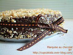 Marquise au chocolat praliné