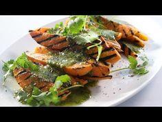 Char-Grilled Sweet Potato w/ Coriander Vinaigrette