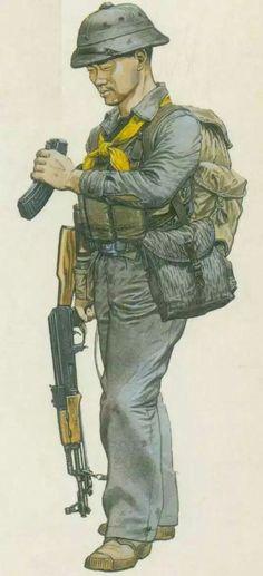 North Vietnam Army, pin by Paolo Marzioli