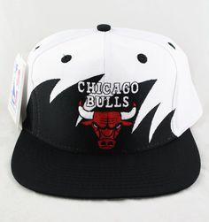 ab00f10d3efc6 Sharktooth cotton twill Chicago Bulls snapback