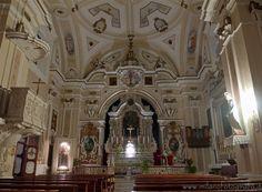 Felline fraction of Alliste (Lecce, Italy) - Interior of the Church of San Leucio