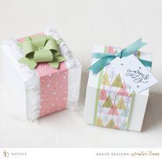 Christmas Hybrid Craft Idea - Sahin Designs