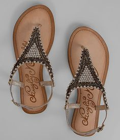 7e8646151c752 Naughty Monkey Embellished Sandal - Women s Shoes in Gold