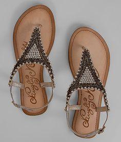 Naughty Monkey Embellished Sandal