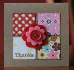 Thanks Mini Card