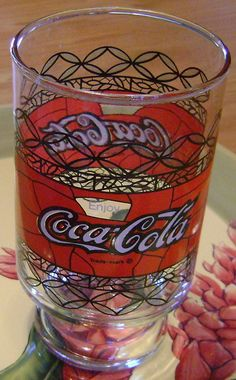 large vintage Coke glass by theevintageshop on Etsy, $12.00