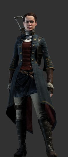 Lady Igraine - the only woman in Order, and the youngest member - Heroes - The Order: 1886 (coming soon) - Game Guide and Walkthrough